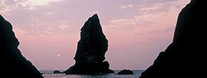 沼島上立神岩